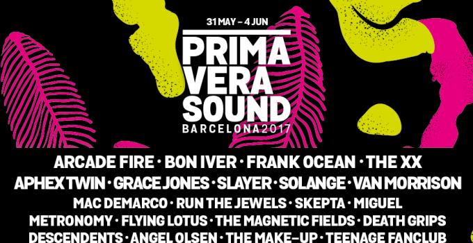 Primavera Sound 2017: SVELATO IL CARTELLONE DEL PRIMAVERA SOUND 2017